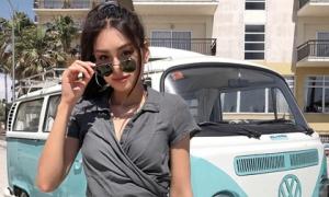 Xuất hiện thêm một gương mặt mới trong hội con nhà giàu Việt: mặt siêu xinh, dáng chuẩn như người mẫu