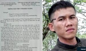 Cựu tuyển thủ U23 Việt Nam bị truy tìm vì... tội cướp giật