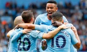 Man City - Huddersfield: Mãn nhãn 7 bàn, người hùng hat-trick