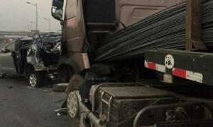 TAND Thái Nguyên chưa chuyển hồ sơ vụ án xe container tông xe Innova lùi trên cao tốc lên TAND Tối cao