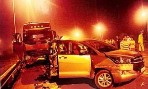 'Cần kháng nghị hủy án vụ xe đầu kéo tông Innova đi lùi trên cao tốc'