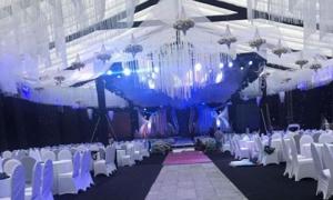 """""""Siêu đám cưới"""" ở Thái Nguyên, riêng chi phí trang trí 5 tỷ đồng, mời nhiều ca sĩ nổi tiếng?"""
