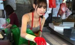 Bí mật về cô gái được gọi là 'nữ thần bán cá' xinh như mộng đang gây sốt MXH Đài Loan