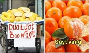 Vạch mặt loại quả chính hãng Trung Quốc nhưng giả danh hàng Việt, nên cẩn trọng kẻo rước bệnh vào nhà