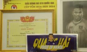 Choáng với gia tài 'khủng' với những thành tích và huy chương trên sân cỏ của Quang Hải khi chỉ mới 21 tuổi