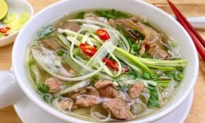 Phở Việt Nam lọt top 50 món súp ngon nhất thế giới