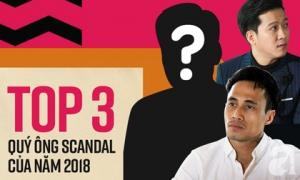 3 sao nam đoạt Cúp 'Quý ông Scandal' của năm 2018: Trường Giang, Phạm Anh Khoa vẫn thua xa người đàn ông này