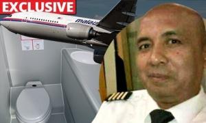 """Cơ trưởng MH370 """"ở trong toilet"""" khi máy bay gặp sự cố đột ngột?"""