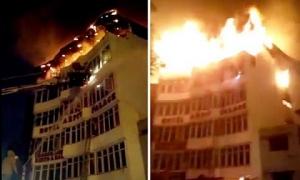 Cháy khách sạn, 21 người thương vong