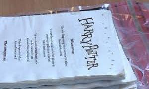 Phát hiện số lượng lớn ma túy được tẩm vào sách Harry Potter