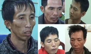 Mức án nào cho 5 bị can sát hại nữ sinh đi giao gà?