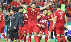 Bảng xếp hạng FIFA tháng 4: Việt Nam top 'Đại gia' châu Á, bỏ xa Thái Lan