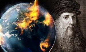 Lời tiên tri đáng sợ về ngày tận thế của thiên tài Leonardo da Vinci