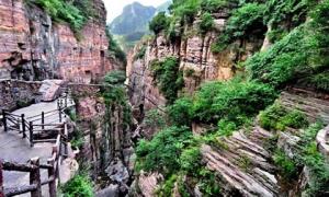 Ngôi làng nguy hiểm nhất Trung Quốc, nằm trên vách đá, chỉ có 1% người dân biết