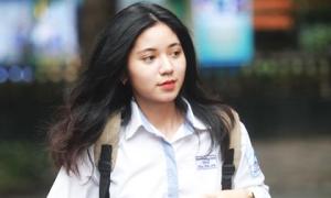 Dàn gái xinh thi THPT Quốc gia 2019 gây chú ý vì nhan sắc xinh đẹp
