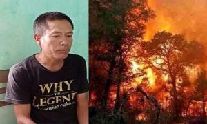 Người đàn ông đốt rác gây cháy rừng ở Hà Tĩnh: Đối mặt án tù 7-12 năm