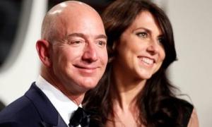 Sau ly hôn, vợ cũ của ông trùm Amazon thành phụ nữ giàu thứ 4 thế giới