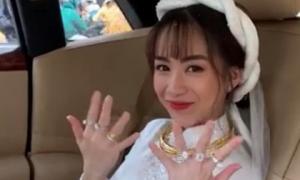 Con gái Minh Nhựa khoe đám cưới, thông báo 'chính thức lấy chồng rồi'