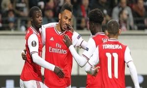 Arsenal thắng 3-0 ở trận ra quân Europa League