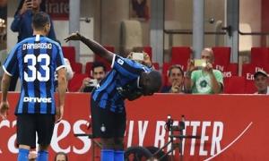 Lukaku ghi bàn, Inter thắng AC Milan và giật ngôi đầu từ Juve