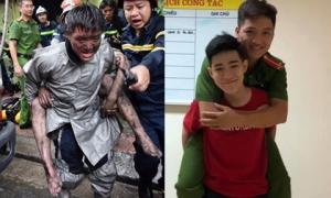 Chàng trai được chiến sĩ PCCC cõng khỏi đám cháy gặp ân nhân cảm ơn