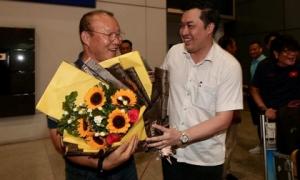 Thầy trò Park Hang-seo về nước, quyết thắng UAE và Thái Lan