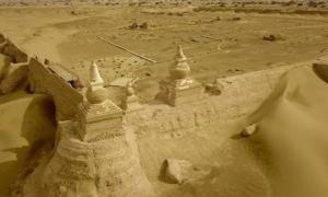 Hải Thành - tòa thành cổ như bị 'lãng quên' trên con đường tơ lụa