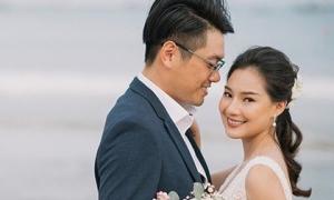 Vợ cố người mẫu Duy Nhân bật khóc vì bị chỉ trích 'cưới chạy bầu'
