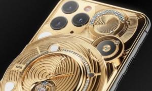 Quên Vertu đi, đây mới là điện thoại cho người 'sinh ra ở vạch đích': Đính nửa kg vàng, 137 viên kim cương, giá 1,65 tỷ đồng