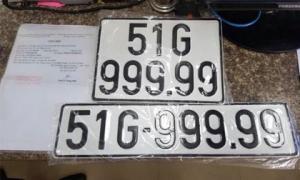 Số đỏ, 7 chiếc ô tô ở Việt Nam đã trúng biển số ngũ quý 9