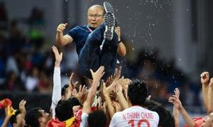 HLV Park được so sánh với các huyền thoại của thể thao Hàn Quốc