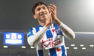 Đoàn Văn Hậu nhận mức lương cao thứ mấy tại SC Heerenveen?
