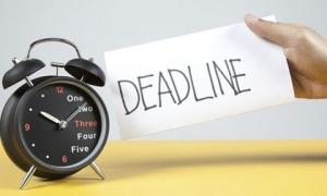 Làm gì khi biết mình sắp trễ deadline?