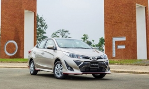 """Toyota Vios """"lật ngược tình thế', trở lại ăn khách nhất thị trường Việt Nam"""