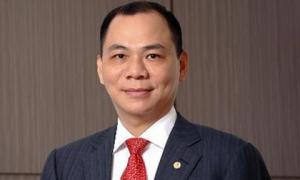 Công ty của ông Phạm Nhật Vượng bán 500.000 cổ phiếu Vingroup