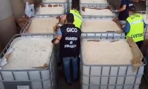 Italy bắt giữ lô ma túy lớn chưa từng thấy của IS, giá hơn 1 tỷ USD