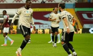 Aston Villa 0-3 Man Utd: 'Quỷ đỏ' thăng hoa