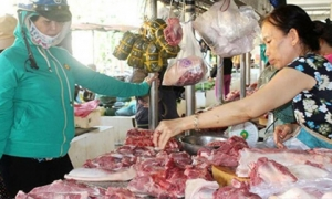 Giá thịt lợn trong nước vẫn cao, người tiêu dùng chuyển qua mua thịt lợn nhập khẩu
