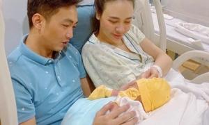 Đàm Thu Trang chính thức lộ diện sau sinh nhưng lời nhắn nhủ của ông xã mới gây chú ý