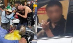 Danh tính đại gia đi Lexus LX 570 bị đánh ghen còn ra tay bóp cổ vợ trên phố Lý Nam Đế