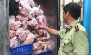 Phát hiện gần 1 tấn thịt lợn mắc dịch tả châu Phi đang trên đường đưa đi tiêu thụ