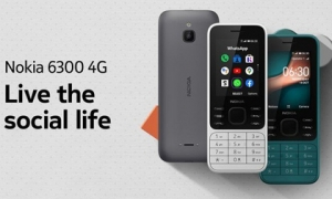 Huyền thoại Nokia 6300 hồi sinh với thiết kế mới, hỗ trợ 4G, giá 2.2 triệu đồng