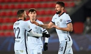 Giroud tỏa sáng phút bù giờ, Chelsea sớm giành vé vào vòng 1/8 Champions League