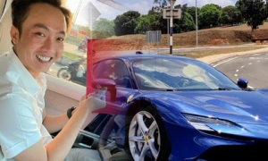 Cường Đô La tậu thêm siêu xe 60 tỷ và có chi tiết đặc biệt liên quan đến Đàm Thu Trang
