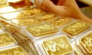 Giá vàng trong nước tăng vọt
