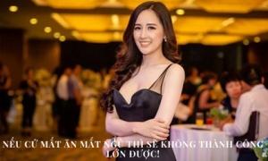 Tư duy đầu tư của 'Hoa hậu chứng khoán' Mai Phương Thúy: Nếu mất ngủ vì 10 triệu đồng thì làm sao kiếm được 20 triệu!