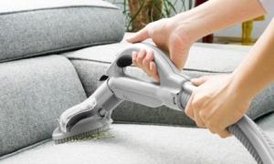 Cách vệ sinh sofa vải bố nhanh gọn, siêu tiết kiệm