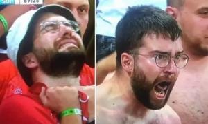 CĐV Thụy Sĩ nhận quà khủng bất ngờ sau màn lột áo trên khán đài Euro 2020