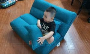 Tư vấn nên chọn loại sofa cho nhà có trẻ nhỏ