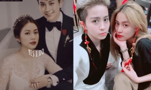 MXH xôn xao ảnh cưới của Gil Lê và Hoàng Thùy Linh, netizen rần rần phấn khích